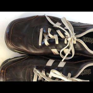 Sketchers Grand Jams Leather Walking Shoe 45055